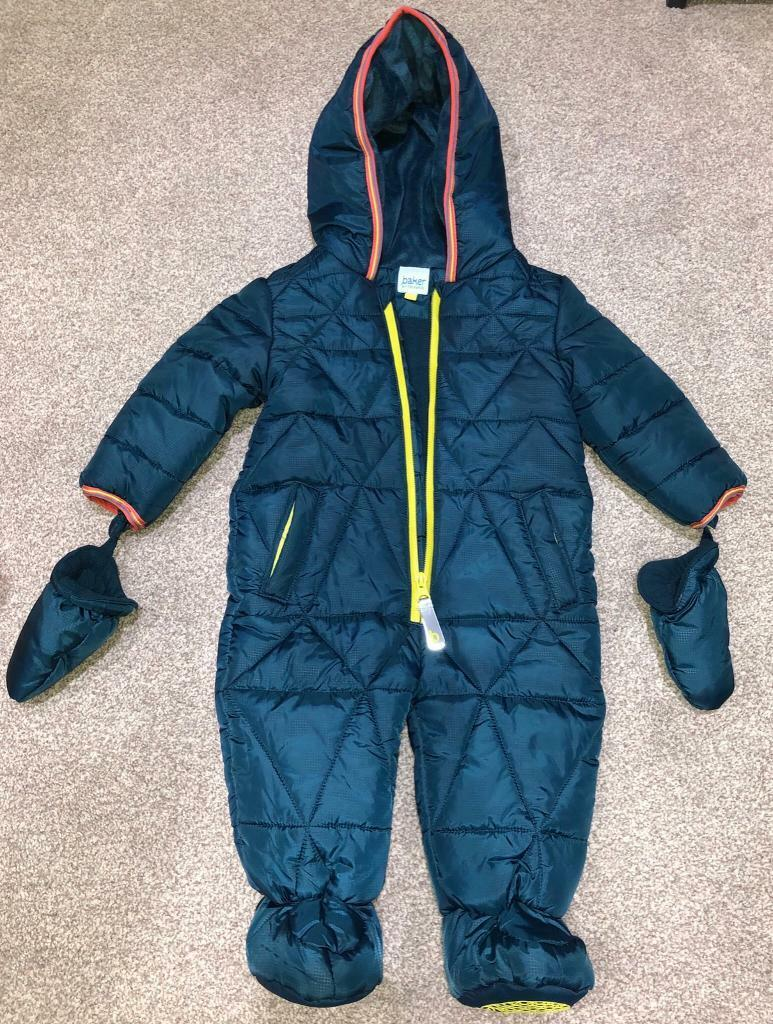 85fa2b8306224 Baker by Ted Baker Baby Snowsuit 6-9 months