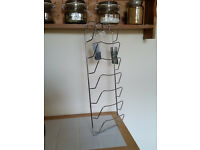 New with tags Chrome Pan Lid Rack holder £6