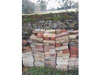 Reclaimed floor bricks