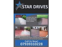 Drive patio decking cleaning Star Drives