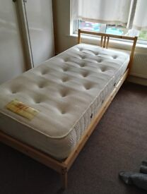 Single Mattresses + Beds For Sale