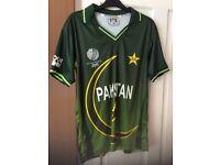 Pakistan cricket shirt ICC 2011 World Cup A.MALIK £10 Bargain!