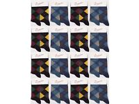 Wholesale Socks Bargain Price: Mens High Quality Cotton Rich Argyle Socks 120 Packs (240 Pairs)