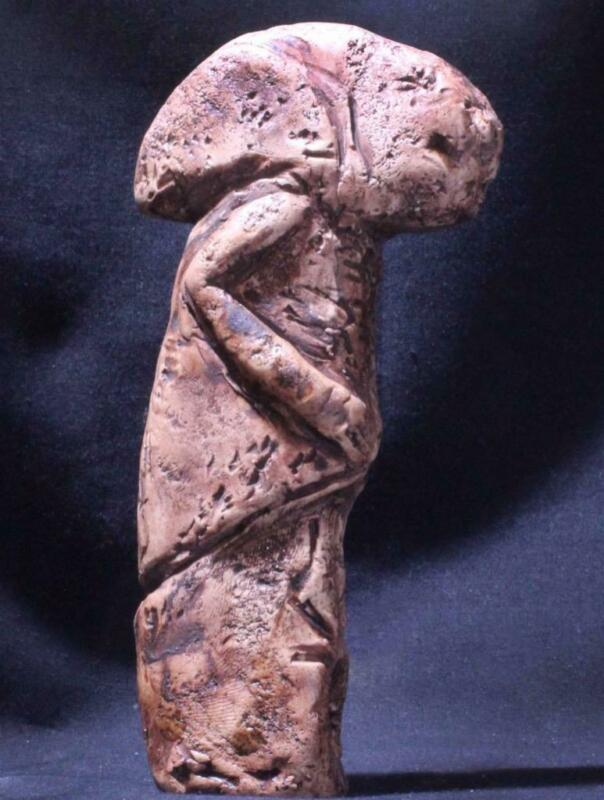 """""""WATCHERS"""" OF GOBEKLI TEPE - The Kilisik Anthropomorph -Neolithic 10,000 BC"""