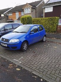 Fiat Punto 1242cc - NON Runner selling for spares or repair