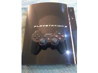 Original Backwards Compatible 60GB PlayStation 3 with PlayStation 2 Games - £80
