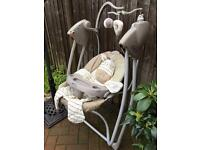 GRACO MUSICAL BABY SWING CHAIR