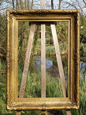 Alter Magnificent Frame Stucco Solid Wood 93 x 69 Fm 76 x 52 cm Baroque
