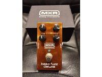 MXR Bass fuzz deluxe pedal