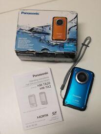 Panasonic HM-TA20 High Definition Mobile Camera Waterproof Video Camera