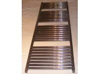 High grade, Stainless steel towel radiator Nickel color 500mmx1440mm