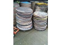 Recycled Oak Whisky Barrel Lids/Ends