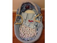 Beautiful Kiddicare, 'Busy Tractor' moses basket