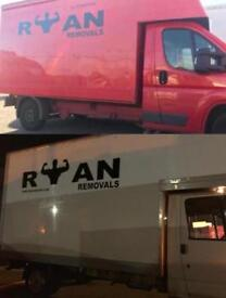 💪RYAN REMOVALS ** Same day man with van /2men/Removals/house office clearance