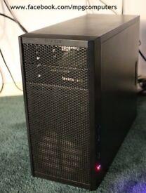 Gaming PC Ryzen 3 1200, RX560 4GB,8GB RAM,120GB SSD+500GB HDD,NoctuaL9i+ 80+ Bronze PSU