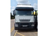 2007 IVECO STRALIS 310 26 TON CURTAIN SIDE HGV TRUCK DOUBLE BED GOOD CONDITION LEZ OK ONLY £5995