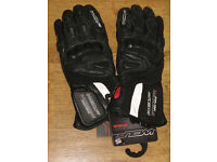Wolf Titanium Outlast leather waterproof motorcycle gloves XXL