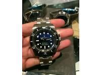 Rolex Deep Sea Deweller Swiss ETA £100 Waterproof Heavy Eta Movement