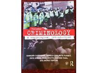 Criminology : A sociological introduction 3rd edition |Routledge Book