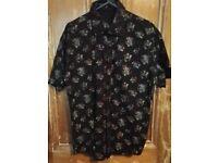 Ringspun Sugar Skull short sleeve shirt Small