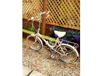 Raleigh Compact Folding Bike - refurbed vintage 80's