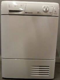 Hotpoint condenser Dryer TCM580/PCC58145, 3 month warranty, delivery available in Devon/Cornwall