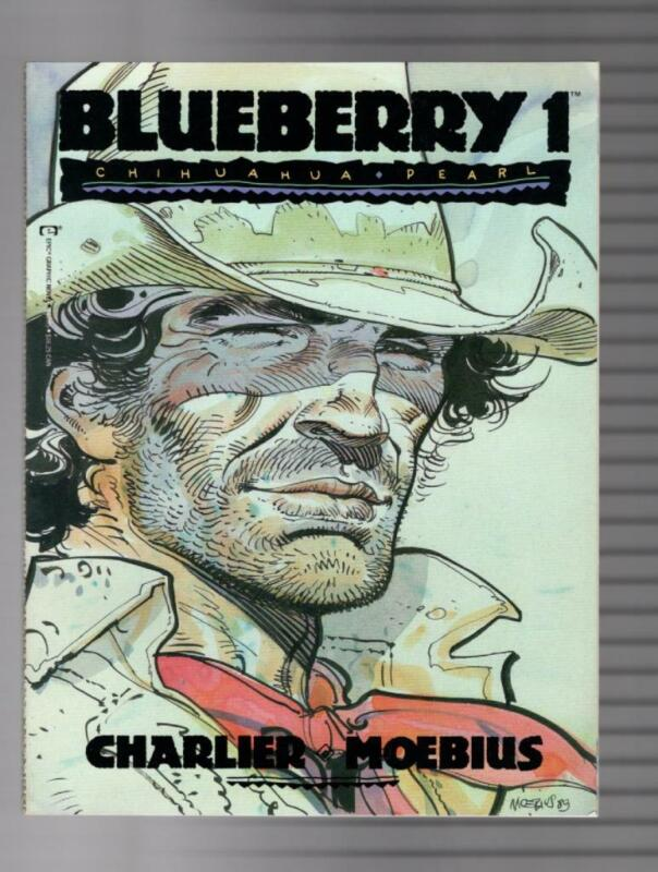 Blueberry Issue 1-3 Chihuahua Pearl, Ballad From A Coffin, Angel Face VF+