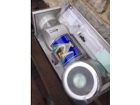 Shower light and fan complete kit NEW