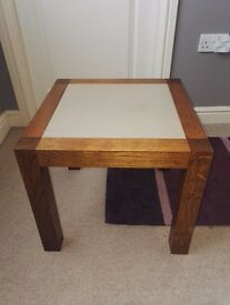 Beautiful wood coffee side table