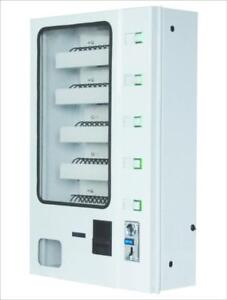 Candy Vending Machine, dispenser For Snacks, Paper With Coin Acceptor(020197)