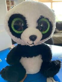 TY panda soft toy