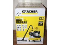 KARCHER WD4 PREMIUM WET & DRY VACUUM CLEANER - BRAND NEW