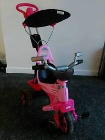Child's trike bike excellent condition