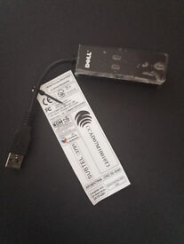 New Dell NW147 56k External USB Modem