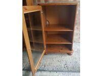 Solid Pine Stereo Cabinet