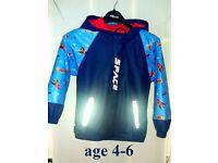 BOYS waterproof, fleece lined jacket (age 4-6)