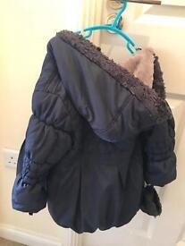 Jasper Conrad Girls Coat 3-4yrs