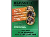Blessed Childminders (Ofstead Registered)