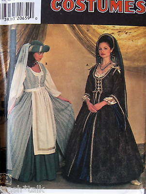 Elizabethan re-enactment Theatre costume pattern - Elizabethan Theatre Costume