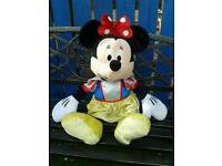 Giant Minnie Mouse 70cm tall (dressed as Snow White)