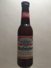 Giant 2ft Budweiser bottle money box