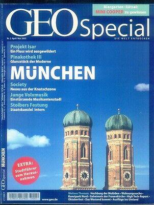 Geo spezial 2 - 2003  München  Die Welt erleben