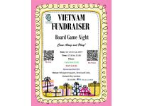 Vietnam Fundraiser: Board Game Night. Come Along & Play!