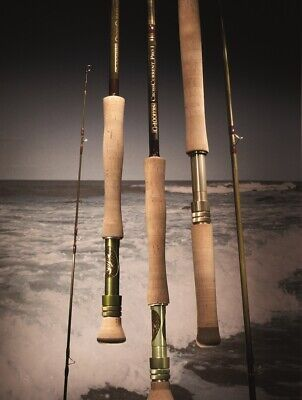 G. Loomis Crosscurrent Saltwater Fly Fish Rod FR10214-3 for sale  Shipping to Ireland