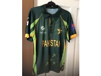 Pakistan cricket shirt 2013 Champions trophy £8 each or £15 for both Bargain!