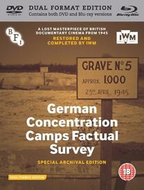 German Concentration Camps Factual Survey (DVD + Blu-ray + Book)