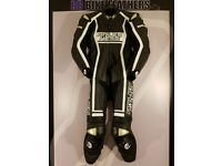 Arlen Ness 8308 Magnesium One Piece Motorcycle Leather Suit - EU 50 / UK 40 - BB BIKE LEATHERS