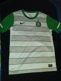 Celtic tops (12-13) & shorts (age 10-12)