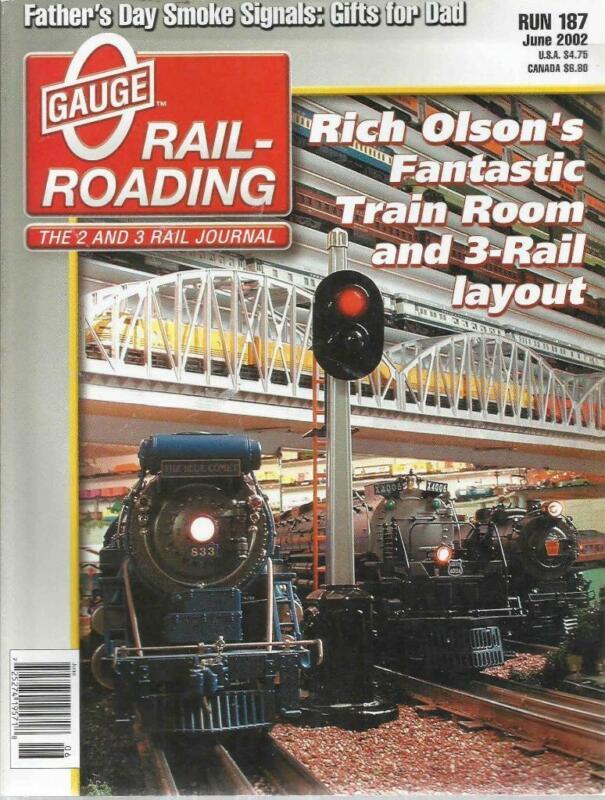 O Gauge Railroading June 2002 Three Color Block Signals Passenger Platform Plans