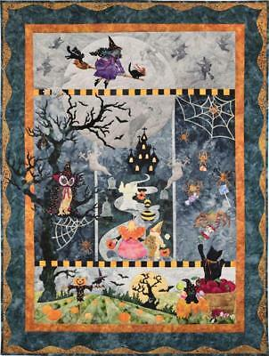 Once in a Boo Moon Halloween McKenna Ryan Pine Needles Quilt 5 Pattern Set (Mckenna Ryan Halloween)